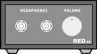 Headphone Amp Front Panel
